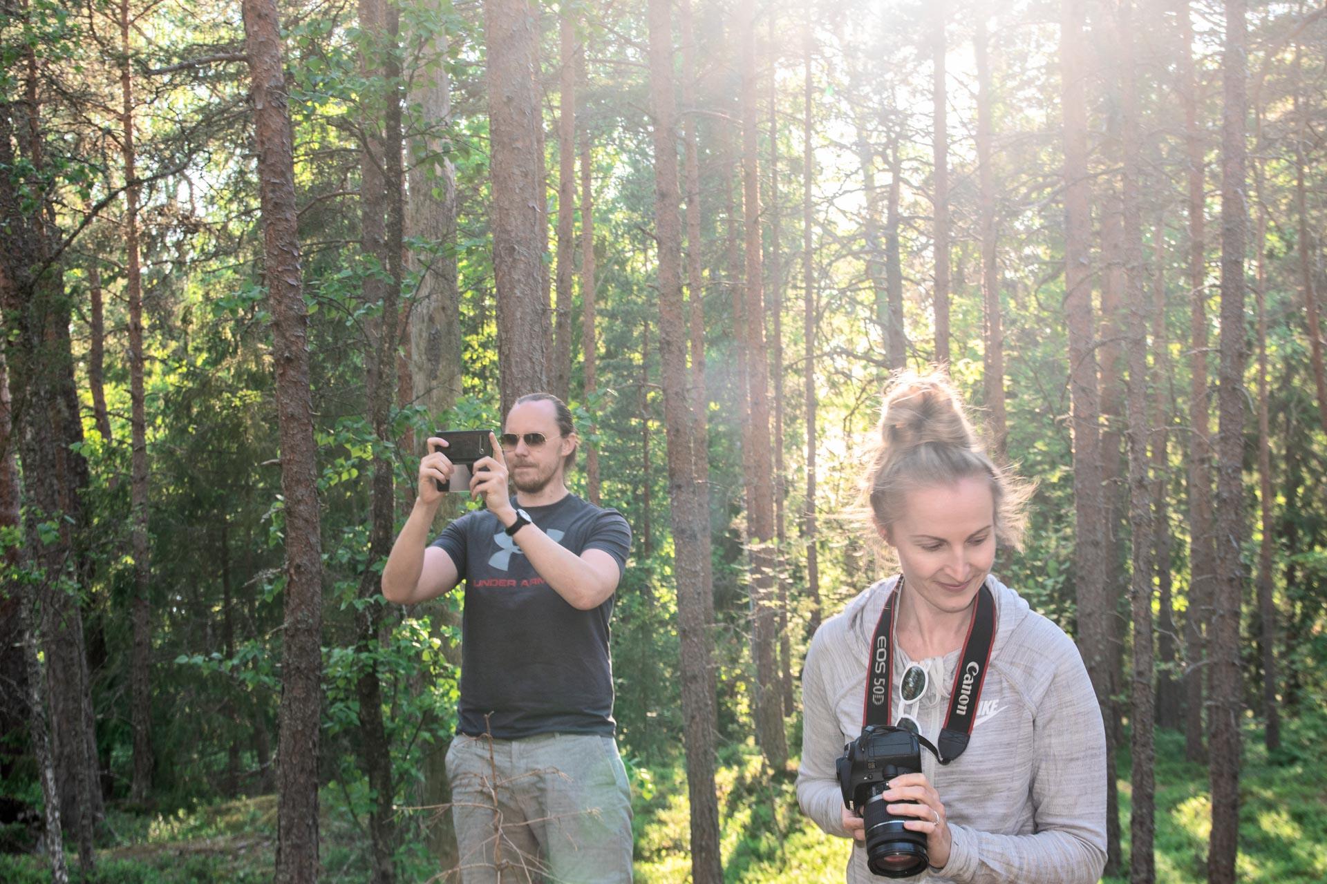 luontokuvauskurssi polku nature tours
