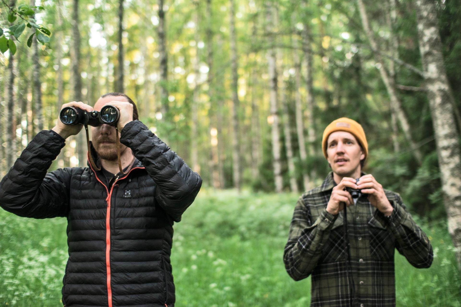 opastetut luontoretket polku nature tours