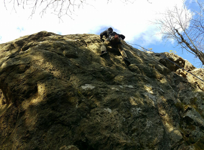 elämysohjelmat kalliokiipeily polku nature tours