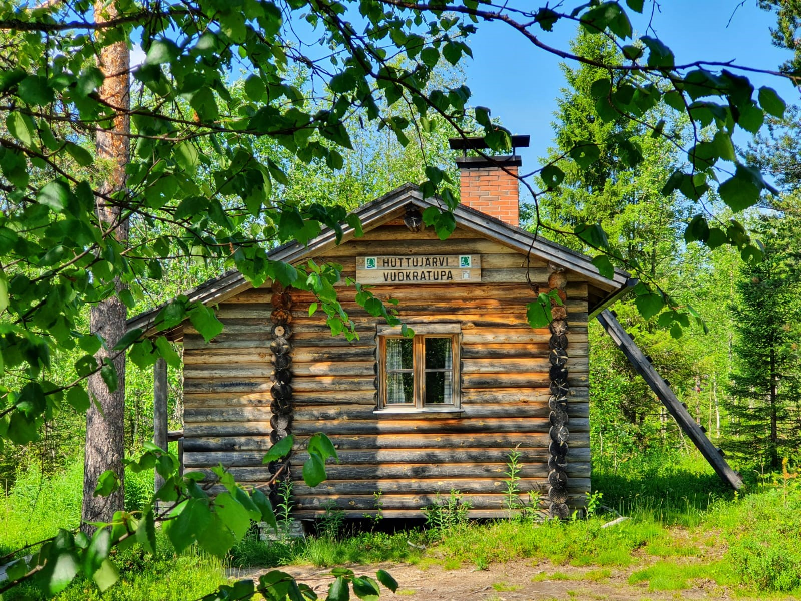 Huttujärven tupa, Pyhä-Luoston kansallispuisto